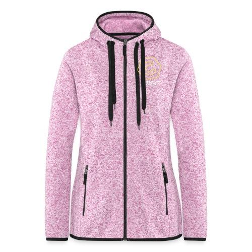 CS Hoodie Pink Unisex - Naisten hupullinen fleecetakki