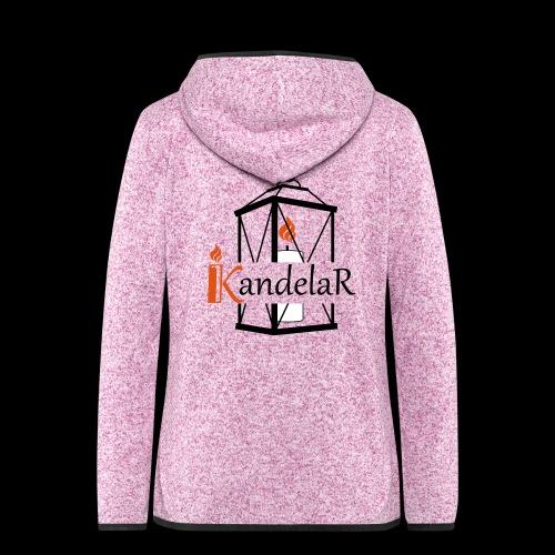 KandelaR - Frauen Kapuzen-Fleecejacke