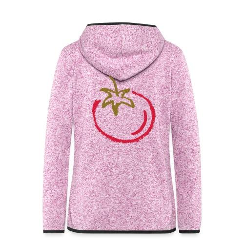tomato 1000points - Women's Hooded Fleece Jacket