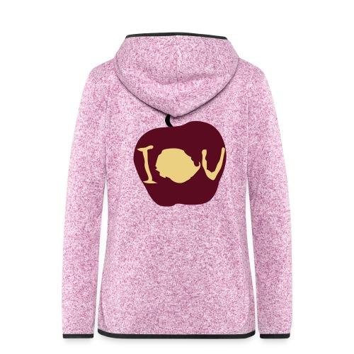 IOU (Sherlock) - Women's Hooded Fleece Jacket