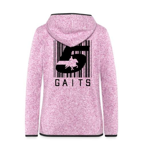 5gaitsBarcode 1 - Women's Hooded Fleece Jacket