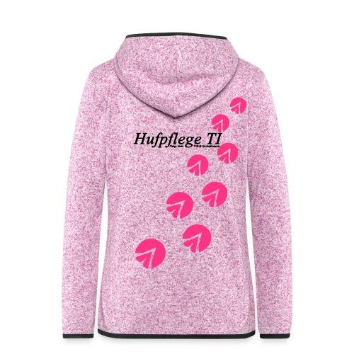 TI_Logo5 - Frauen Kapuzen-Fleecejacke