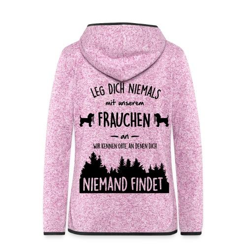 Vorschau: Unser Frauchen - Frauen Kapuzen-Fleecejacke