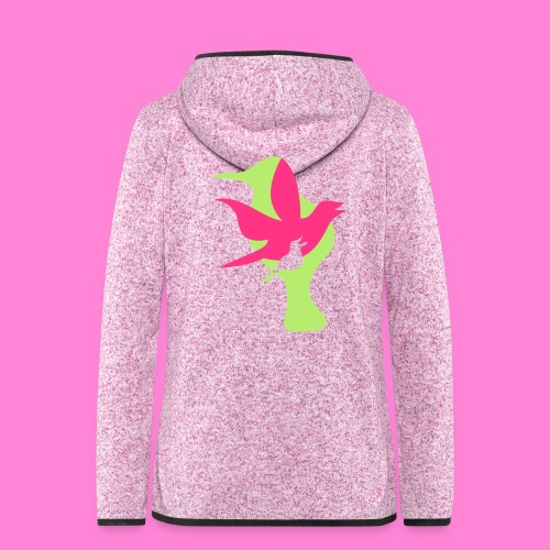birds - Vrouwen hoodie fleecejack
