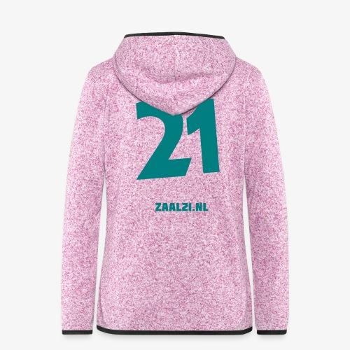 zaal-achterkant - Vrouwen hoodie fleecejack