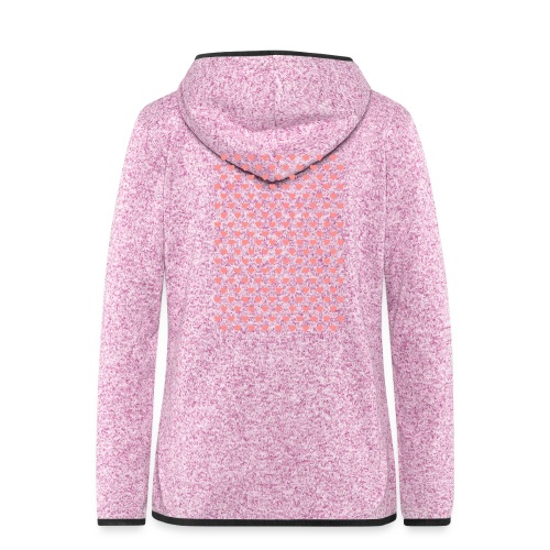 wwwww - Women's Hooded Fleece Jacket