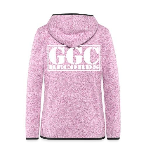 GGC-Records Label-Stempel - Frauen Kapuzen-Fleecejacke