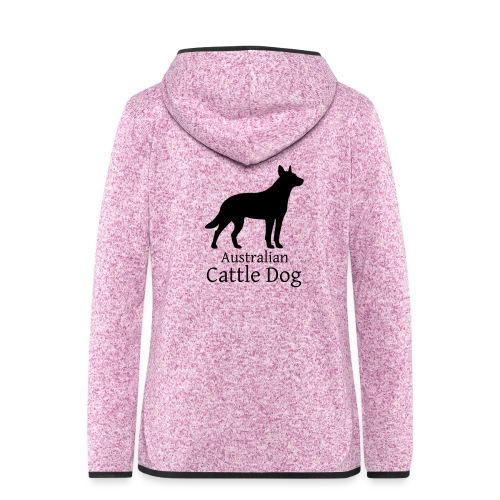 Australian Cattle Dog - Frauen Kapuzen-Fleecejacke