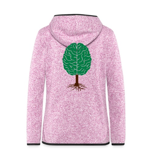 Brain tree - Vrouwen hoodie fleecejack