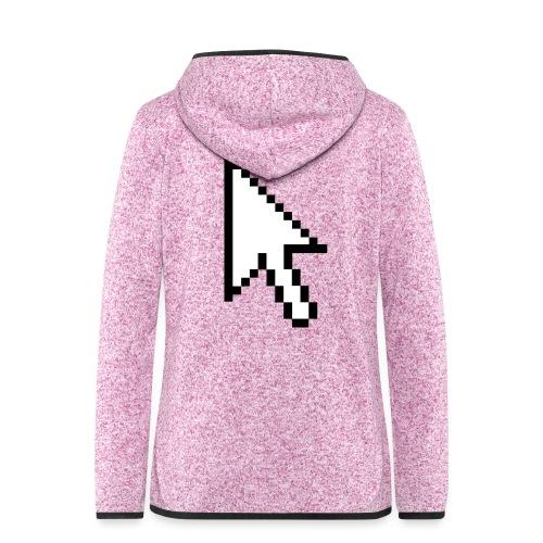 Mouse Arrow - Vrouwen hoodie fleecejack