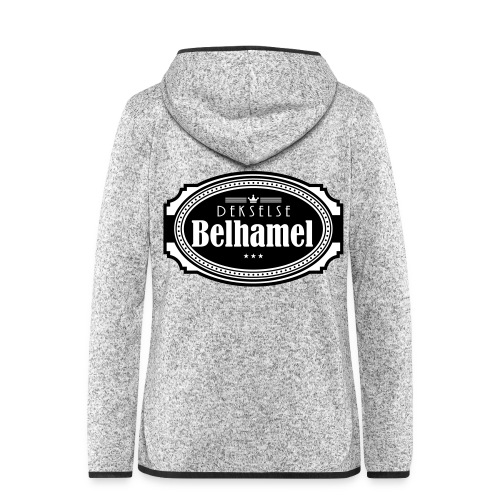 Dekselse belhamel - Vrouwen hoodie fleecejack