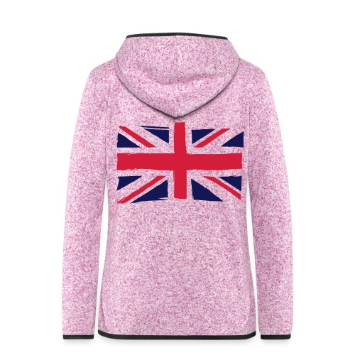 vlag engeland - Vrouwen hoodie fleecejack