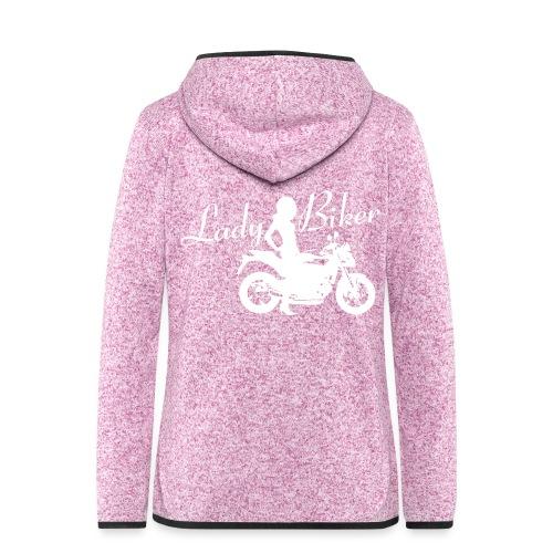 Lady Biker - Naked bike - Naisten hupullinen fleecetakki