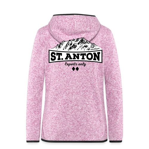 St. Anton Schindlergrat - Women's Hooded Fleece Jacket