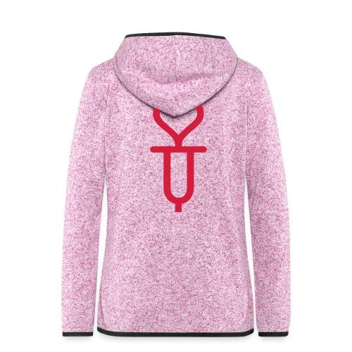 ADDICTED TO LOVE - Women's Hooded Fleece Jacket
