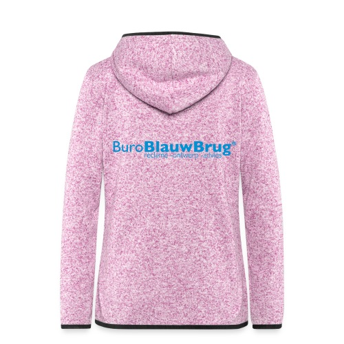 bbb_logo2015 - Women's Hooded Fleece Jacket