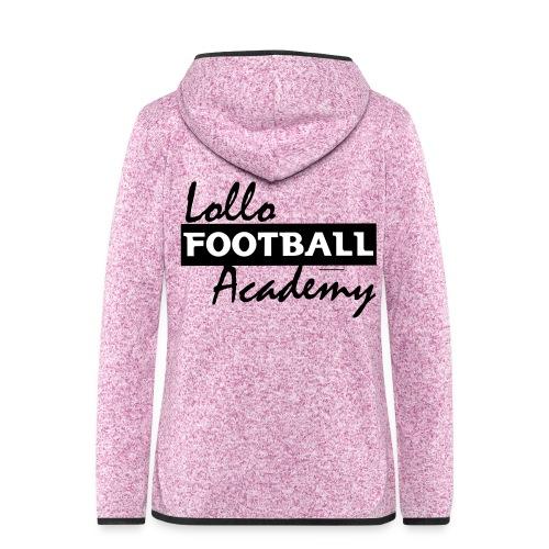 Sweater - Lollo Academy - Fleeceluvjacka dam