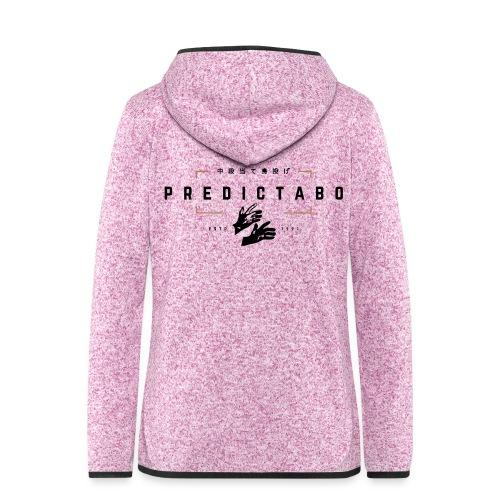 Predictabo - Veste à capuche polaire pour femmes