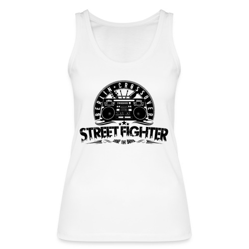 Streetfighter - Bandlogo (Black) - Women's Organic Tank Top by Stanley & Stella