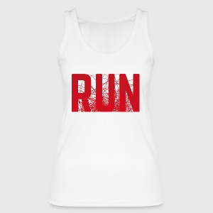 RUN - Frauen Bio Tank Top