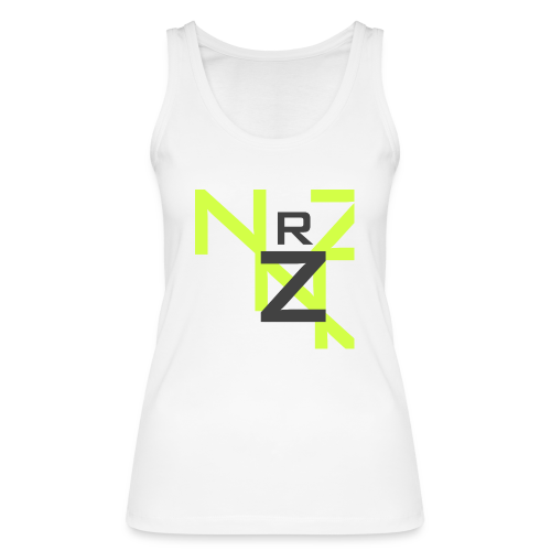 Nörthstat Group™ Clear Transparent Main Logo - Women's Organic Tank Top by Stanley & Stella