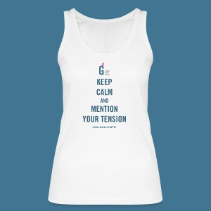 Keep Calm - Women's Organic Tank Top