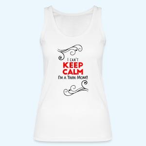 I Can't Keep Calm (voor lichte stof) - Vrouwen bio tanktop van Stanley & Stella