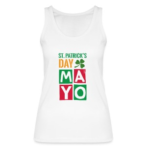 Celebrate St. Patrick's Day in Mayo - Women's Organic Tank Top by Stanley & Stella