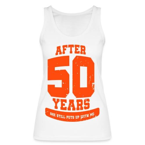 Ü50 Über 50 Jahre 50th - colorize - Frauen Bio Tank Top von Stanley & Stella