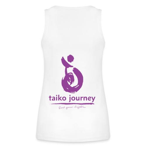 Taiko Journey PURPLE RHYTHM - Women's Organic Tank Top by Stanley & Stella