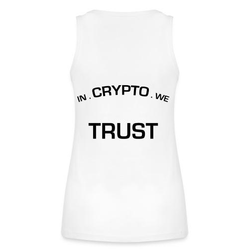 In Crypto we trust - Vrouwen bio tanktop van Stanley & Stella