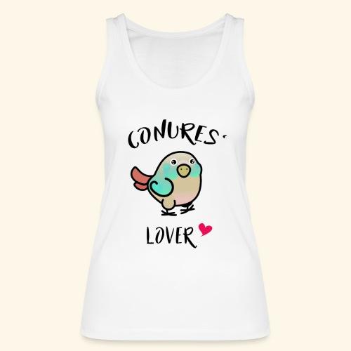 Conures' Lover: blue cinamon - Débardeur bio Femme