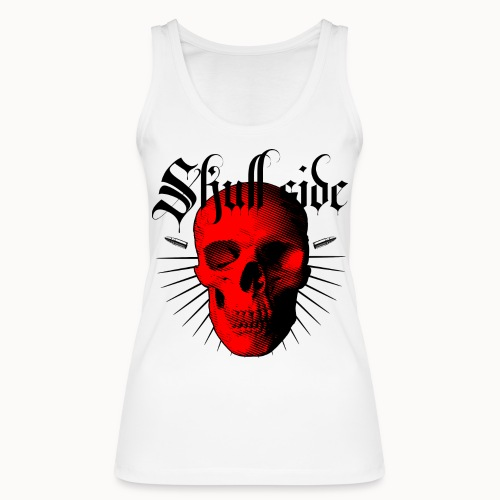 Skull side red - Frauen Bio Tank Top von Stanley & Stella