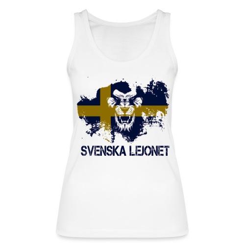 Svenska Lejonet Official Chest Logo - Ekologisk tanktopp dam från Stanley & Stella
