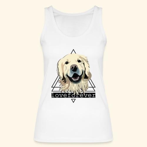 RETRIEVER LOVE FOREVER - Camiseta de tirantes ecológica mujer de Stanley & Stella