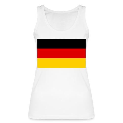 2000px Flag of Germany svg - Frauen Bio Tank Top von Stanley & Stella