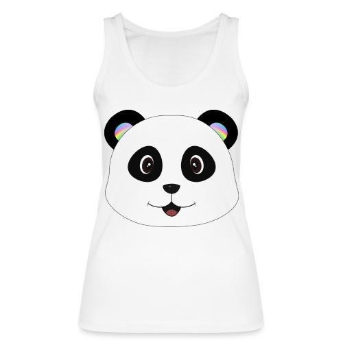 panda rainbow - Camiseta de tirantes ecológica mujer de Stanley & Stella