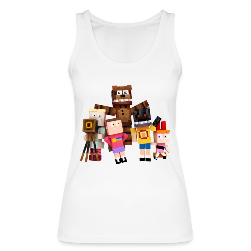 Withered Bonnie Productions - Meet The Gang - Women's Organic Tank Top by Stanley & Stella