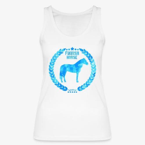 Finnish Horse Army Blue - Stanley & Stellan naisten luomutanktoppi