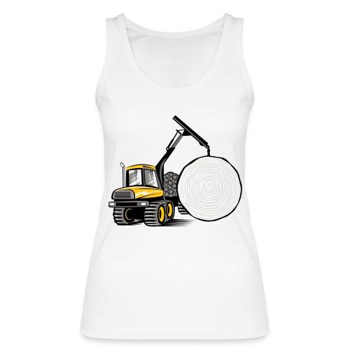 Kuormatraktori t paidat, hupparit, lahjatuotteet - Stanley & Stellan naisten luomutanktoppi
