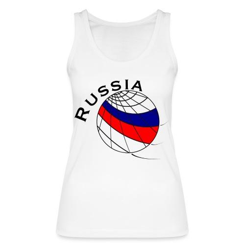 Russland Fußballmotiv - Camiseta de tirantes ecológica mujer de Stanley & Stella