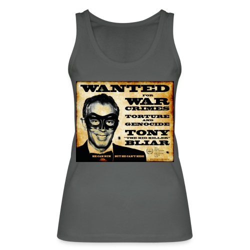 Wanted - Women's Organic Tank Top by Stanley & Stella