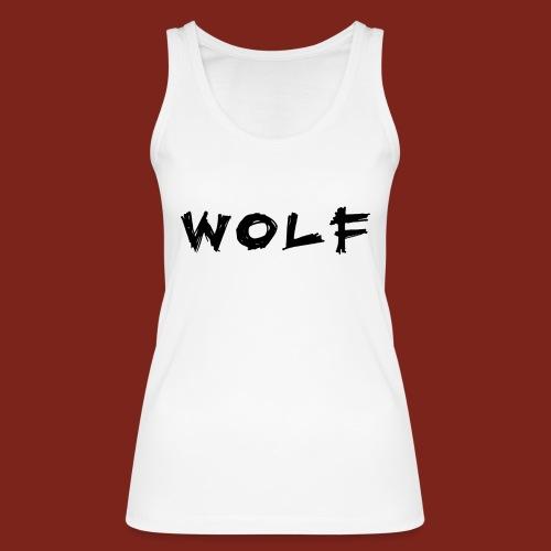 Wolf Font png - Vrouwen bio tanktop van Stanley & Stella