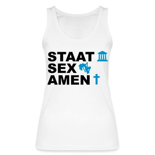 Staatsexamen / Staat Sex Amen - Frauen Bio Tank Top von Stanley & Stella