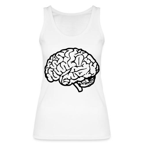 cerveau - Débardeur bio Femme