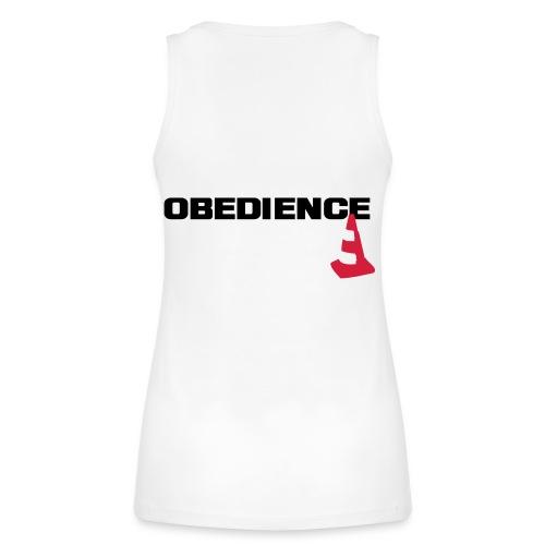Obedience mit Pylone - Frauen Bio Tank Top von Stanley & Stella