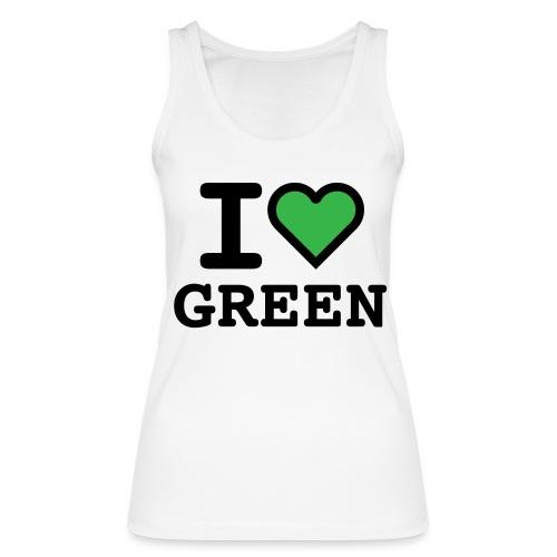 i-love-green-2.png - Top ecologico da donna di Stanley & Stella