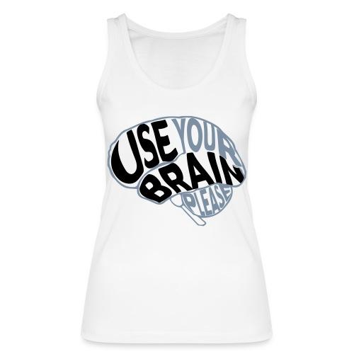 Use your brain - Top ecologico da donna di Stanley & Stella