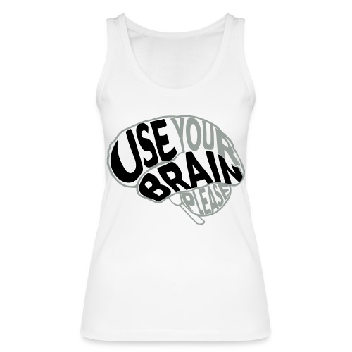 Use your brain - Top ecologico da donna di Stanley & Stella