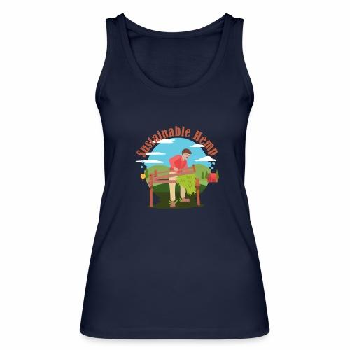 Cáñamo Sustentable en Inglés (Sustainable Hemp) - Camiseta de tirantes ecológica mujer de Stanley & Stella